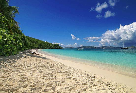 Honeymoon Bay Beach - St. John, U.S. Virgin Islands