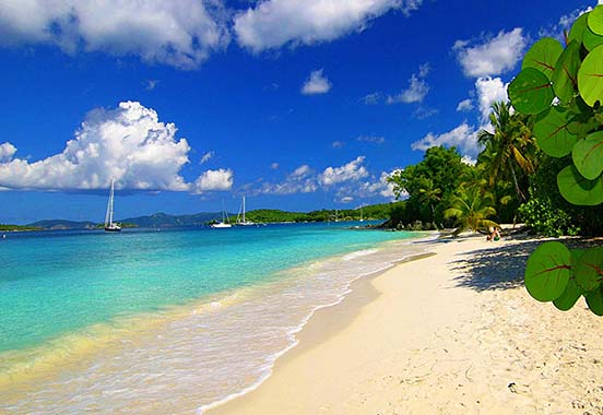 Salomon Bay Beach - St. John, U.S. Virgin Islands