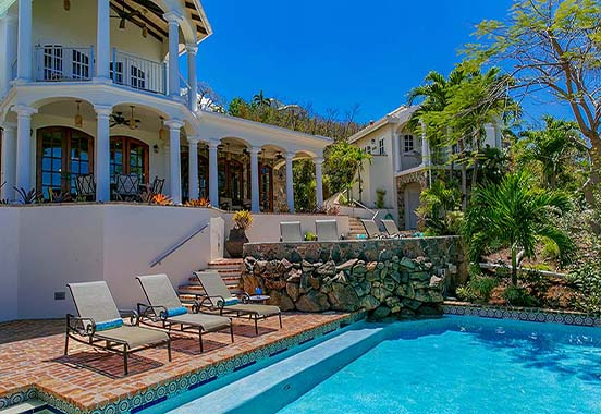 The Stately Las Brisas Caribe Main House & Elegant Pool