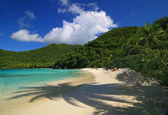 Hawksnest Bay Beach - St. John, U.S. Virgin Islands